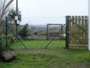 Green Fencing by Cathedral Landscape and Fencing