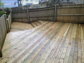Decking by Cathedral Landscape & Fencing