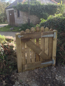 bespoke garden gate by Cathedral Landscape & Fencing