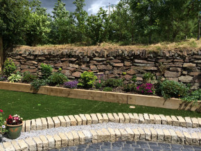 Drystone wall by Cathedral Landscape & Fencing