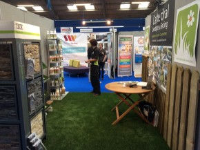 Cathedral Landscape & Fencing at the Cornwall Home & Leisure Show 2015
