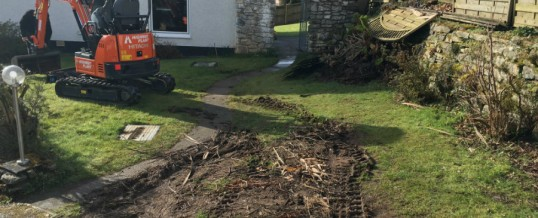 New gravel driveway in St Austell